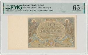 10 złotych 1929 - Ser.DH