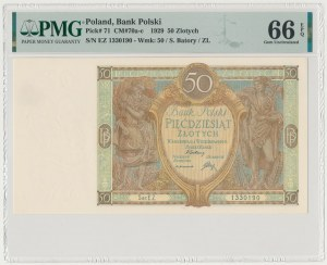 50 złotych 1929 - Ser.EZ