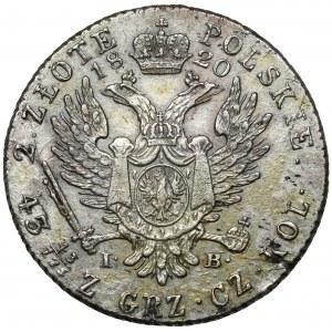 2 złote polskie 1820 IB - duża data