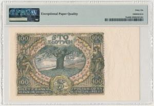 100 złotych 1934 - kropka między literami serii