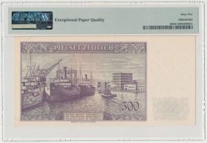 Londyn, 500 złotych 1939 - C