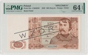 Londyn, 100 złotych 1939 - WZÓR - A 012345