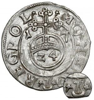 Zygmunt III Waza, Półtorak Bydgoszcz 1617 - Sas bez tarczy