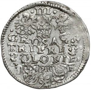 Zygmunt III Waza, Trojak Poznań 1596 - b.ładny