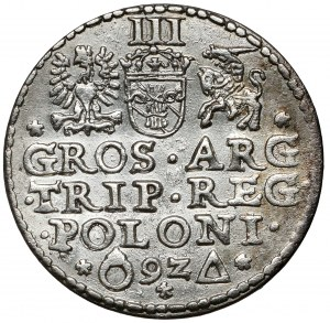 Zygmunt III Waza, Trojak Malbork 1592