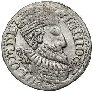 Zygmunt III Waza, Trojak Olkusz 1598 - rzadki portret