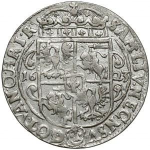 Zygmunt III Waza, Ort Bydgoszcz 1623 - PRV M - typ II - szerokie