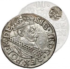 Zygmunt III Waza, Trojak Kraków 1619 - bez miecza