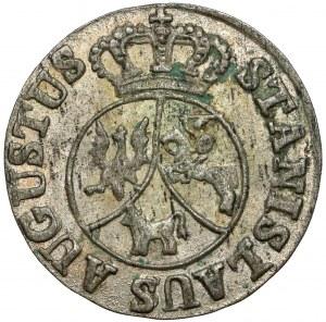 Poniatowski, 6 groszy 1795 - piękne