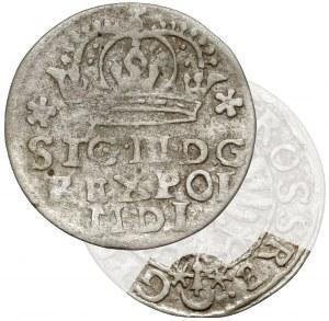 Zygmunt III Waza, Grosz Bydgoszcz 1624 - RE•-G - b.rzadki