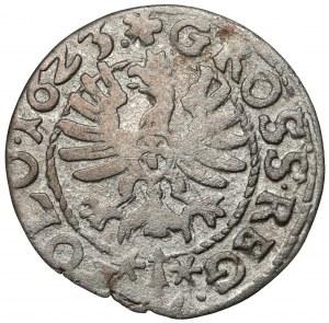 Zygmunt III Waza, Grosz Bydgoszcz 1623 - podwójne G