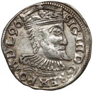 Zygmunt III Waza, Trojak Wschowa 1596 - SIG.III