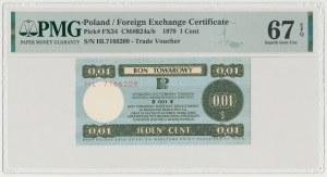 PEWEX 1 cent 1979 - mały - HL