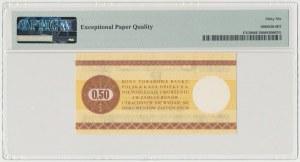 PEWEX 50 centów 1979 - duży - HC