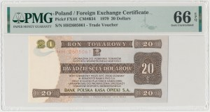 PEWEX 20 dolarów 1979 - HH