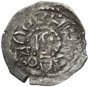 Litwa, Włodzimierz Olgierdowicz (1362-1394), Denar bez daty, Kijów