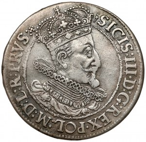 Zygmunt III Waza, Ort Gdańsk 1616 - szeroka kryza