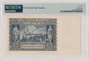 20 złotych 1940 - N