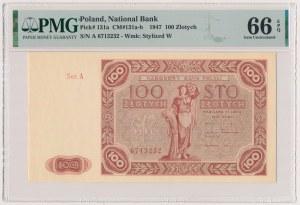 100 złotych 1947 - duża litera - Ser.A