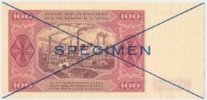 100 złotych 1948 - SPECIMEN - D
