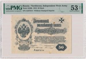 Rosja, Mitawa, Zachodnia Armia Ochotnicza, 50 marek 1919