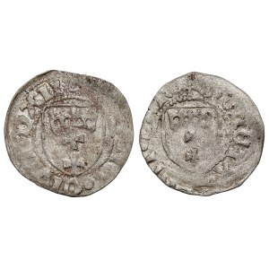 Kazimierz IV Jagiellończyk, Szeląg Gdańsk - rzadsze (2szt)