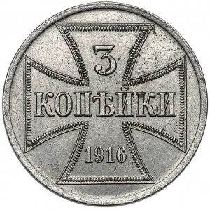 Ober-Ost. 3 kopiejki 1916-A, Berlin