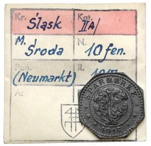 Neumarkt (Środa), 10 fenigów 1917 - ex. Kałkowski