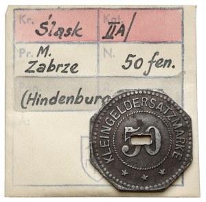 Hindenburg S.O. (Zabrze), 50 fenigów 1918 - ex. Kałkowski