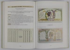 Les billets de la Banque de France et du Tresor 1800-2002