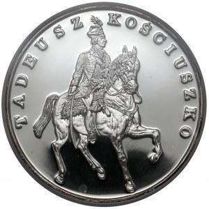 DUŻY Tryptyk 200.000 złotych 1990 Kościuszko