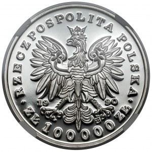 Mały Tryptyk 100.000 złotych 1990 Kościuszko