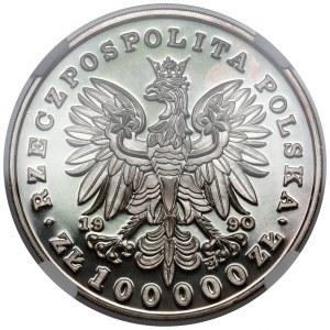 Mały Tryptyk 100.000 złotych 1990 Chopin