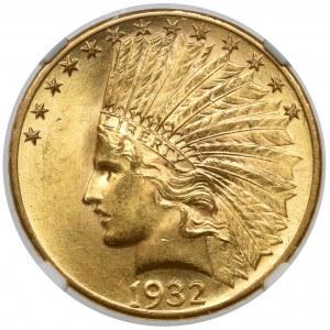USA, 10 dollars 1932 - Indian Head