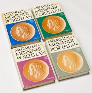 Medaillen aus Meissener Porzellan, 1962-83 (4szt)