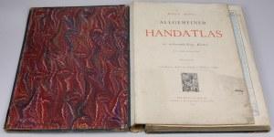 Atlas map - Handatlas 1881, R. Andree's