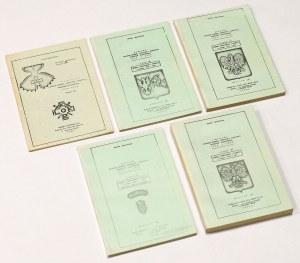 Polskie ordery i odznaczenia 1705-1979, Oberleitner, wyd.III (5szt)