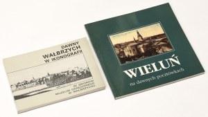 Dawny Wałbrzych w ikonografii; Wieluń na dawnych pocztówkach (2szt)