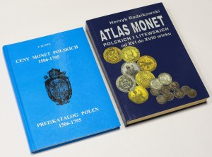 Zestaw literatury numizmatycznej (2szt) - Atlas Monet Polskich... i Klimek