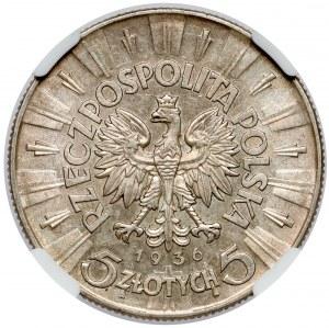 Piłsudski 5 złotych 1936