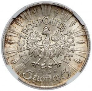 Piłsudski 5 złotych 1938