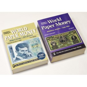 World Paper Money - General and Modern Issues Ed.13 i 17 (2szt)