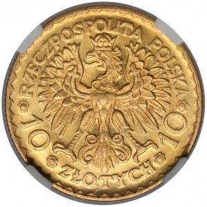 10 złotych 1925 Chrobry - piękne