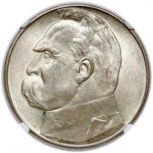 Piłsudski 10 złotych 1937 - PIĘKNY