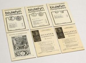 Biuletyn numizmatyczny 1985 - komplet (6szt)