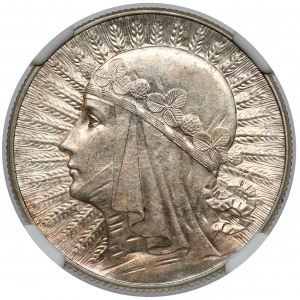 Głowa Kobiety 5 złotych 1933