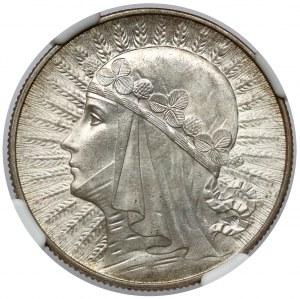 Głowa Kobiety 5 złotych 1934 - wyśmienite