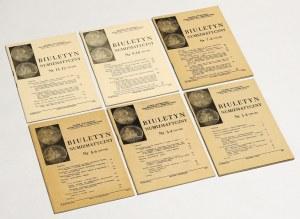 Biuletyn numizmatyczny 1984 - komplet (6szt)