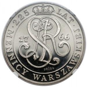 Próba NIKIEL 20.000 złotych 1991 Mennica Warszawska