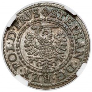 Stefan Batory, Szeląg Gdańsk 1579 - menniczy